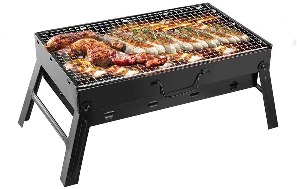 Easy charcoal grill