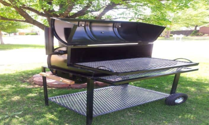 homemade charcoal grill design