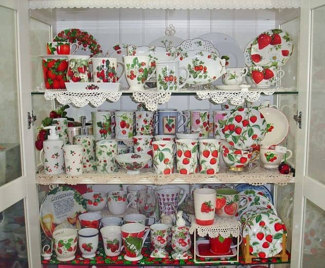 Strawberry Kitchen Decoration