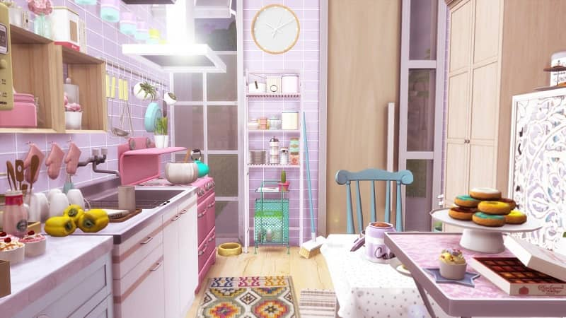 sims 4 kitchen clutter cc