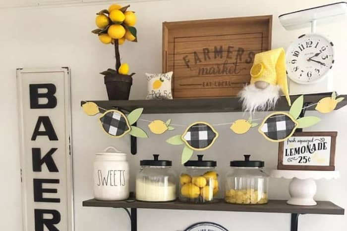 Lemon Kitchen Decoration